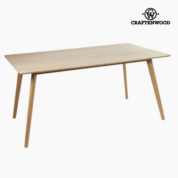 Dining Table Mdf Brown (160 x 90 x 75 cm) - Natural Collection by Craftenwood