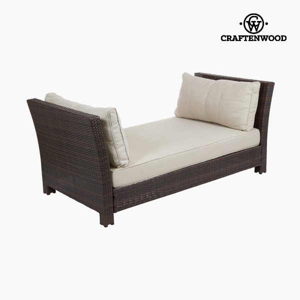 Garden sofa (184 x 91 x 78 cm) Rattan Polyester by Craftenwood