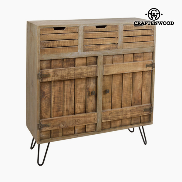 Chest of drawers Wood (100 x 35 x 110 cm) - Far West Collection by Craftenwood