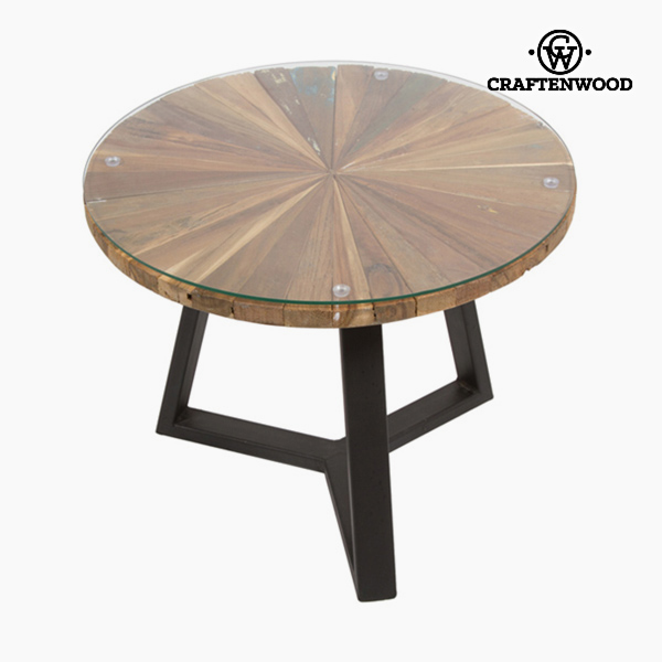 Centre Table Circular Wood - Autumn Collection by Craftenwood