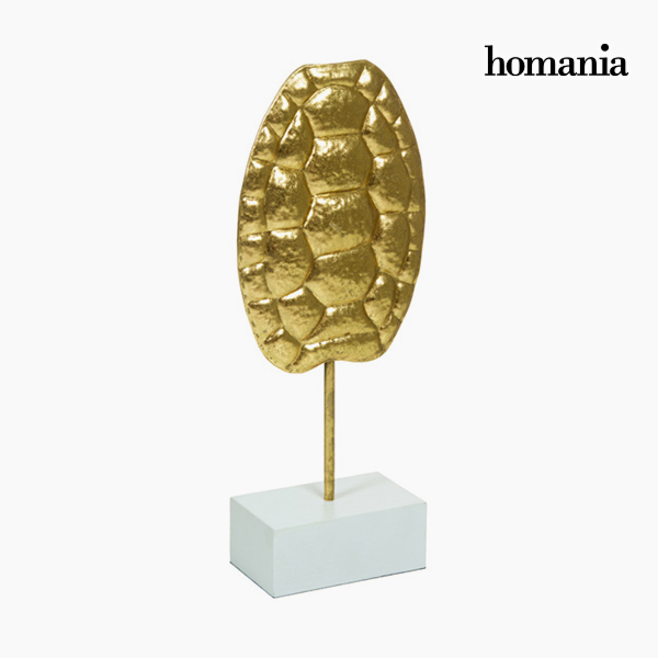 Decorative Figure Tortoise Gold by Homania
