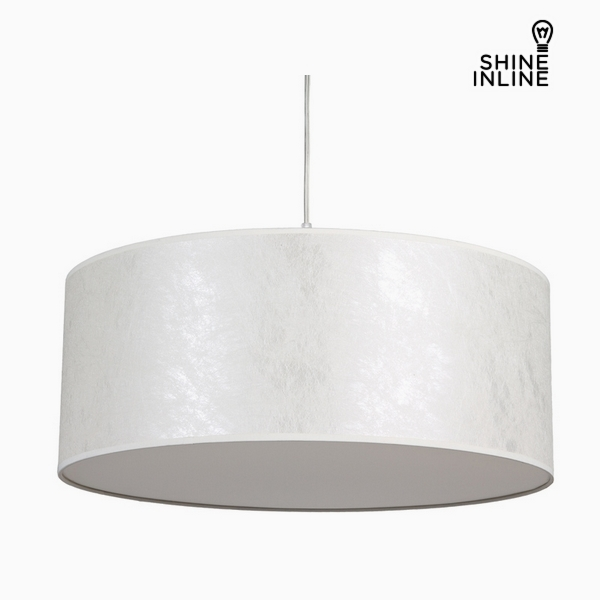 Ceiling Light Mother of pearl Cotton and polyester (50 x 50 x 20 cm) by Shine Inline