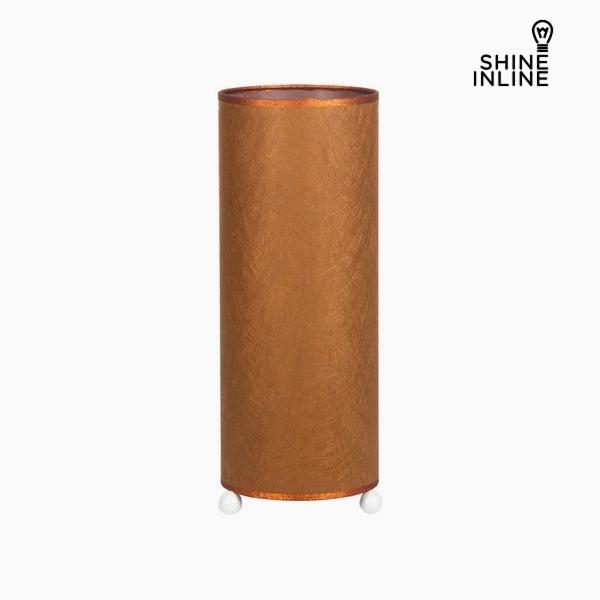 Tropic copper table lamp