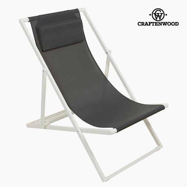 Garden chair Aluminium Textilene Grey by Craftenwood