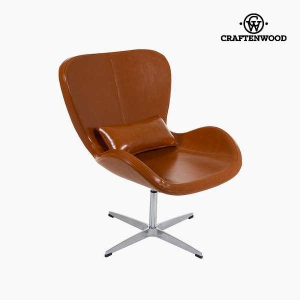 Armchair Brown (70 x 70 x 90 cm) by Craftenwood