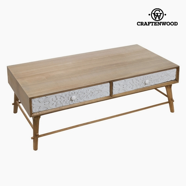 Centre Table Mdf and pine (2 drawers) (120 x 62 x 40 cm) by Craftenwood