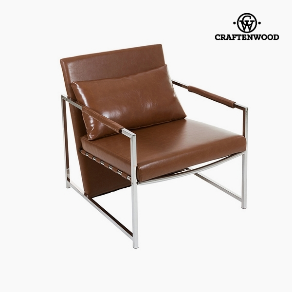 Armchair Brown (70 x 80 x 73 cm) by Craftenwood