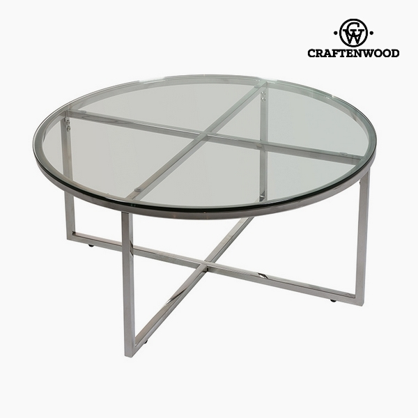 Centre Table Glass (90 x 90 x 40 cm) by Craftenwood