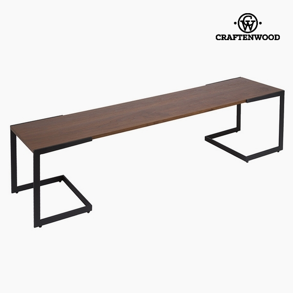 Television Table Dm Walnut (160 x 40 x 50 cm) by Craftenwood