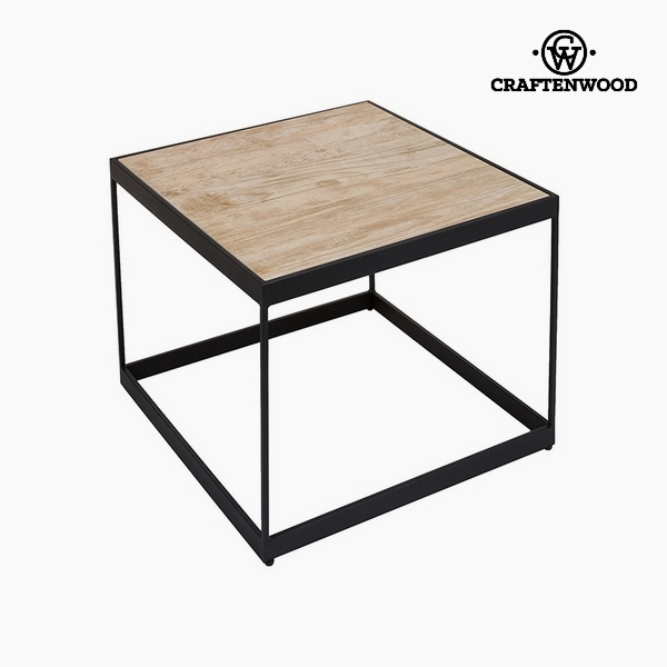 Side Table Ceramic Glass (62 x 62 x 50 cm) by Craftenwood