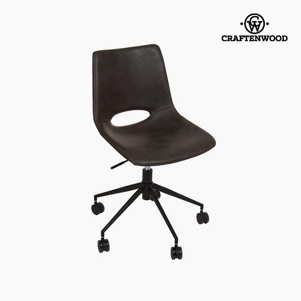 Chair Dark grey Polyskin (63 x 63 x 80 cm) by Craftenwood