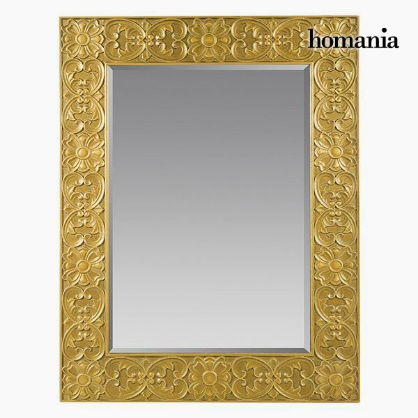 Mirror Squared Gold - Queen Deco Collection by Homania