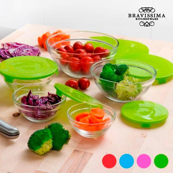 Glass Bowls (5 pieces)
