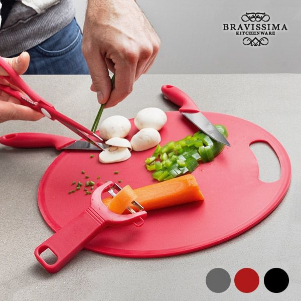 Chopping Board with Accessories (5 pieces)