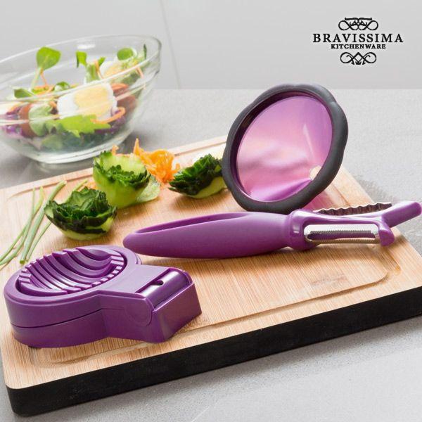 Kitchen Utensils for Vegetable Garnishing (3 pieces)