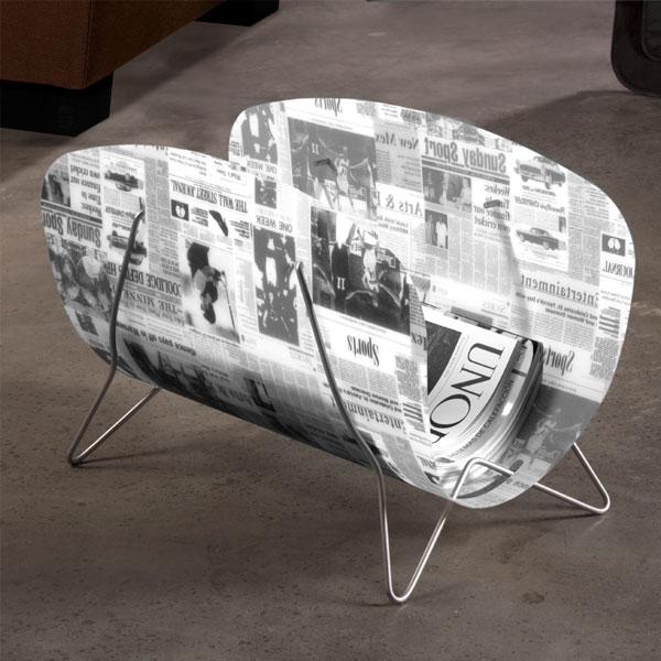 Newspaper Magazine Rack