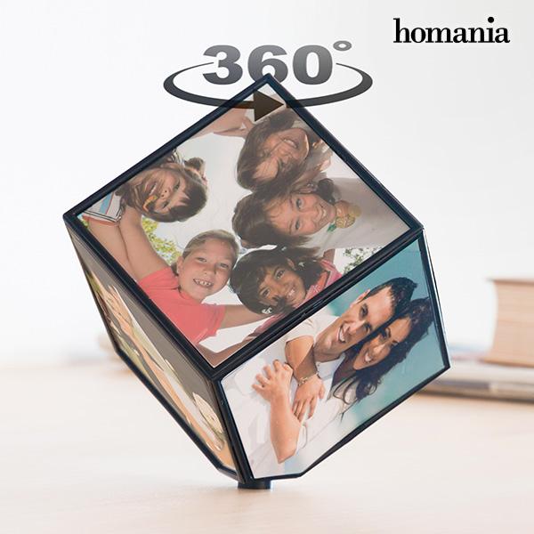 Rotating Cube Photo Frame