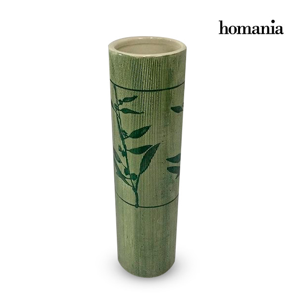 Vase Stoneware (8,5 x 8,5 x 31,5 cm) - Pure Crystal Deco Collection by Homania