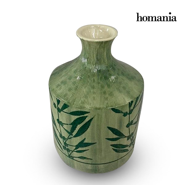 Vase Stoneware (15 x 15 x 23 cm) - Pure Crystal Deco Collection by Homania