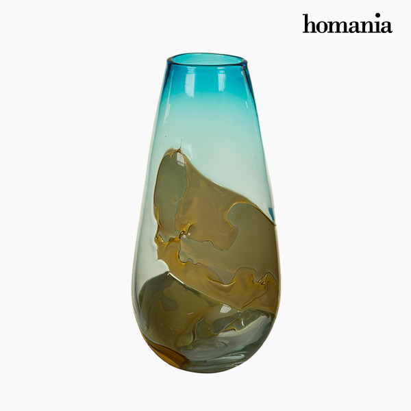 Vase Crystal (18 x 18 x 38 cm) - Pure Crystal Deco Collection by Homania