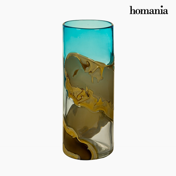Vase Crystal (12 x 12 x 30 cm) - Pure Crystal Deco Collection by Homania