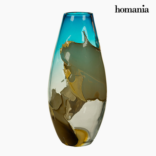 Vase Crystal (20 x 20 x 43 cm) - Pure Crystal Deco Collection by Homania