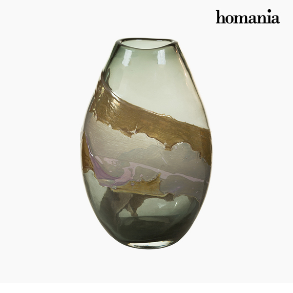 Vase Crystal (23 x 15 x 35 cm) - Pure Crystal Deco Collection by Homania