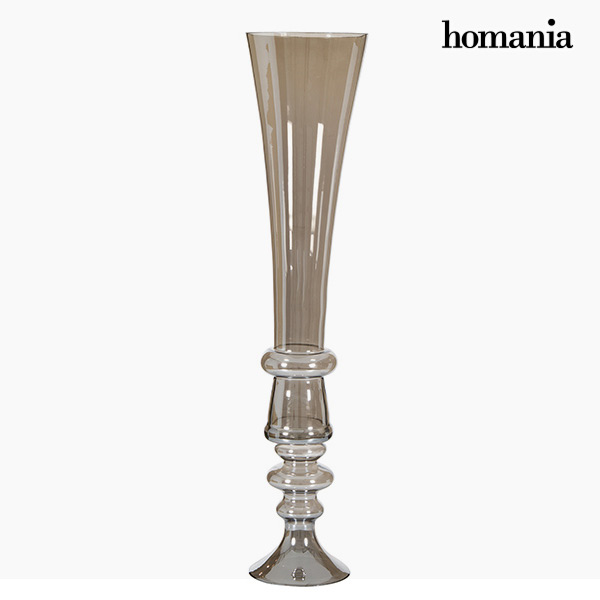 Vase (21 x 21 x 85 cm) - Pure Crystal Deco Collection by Homania