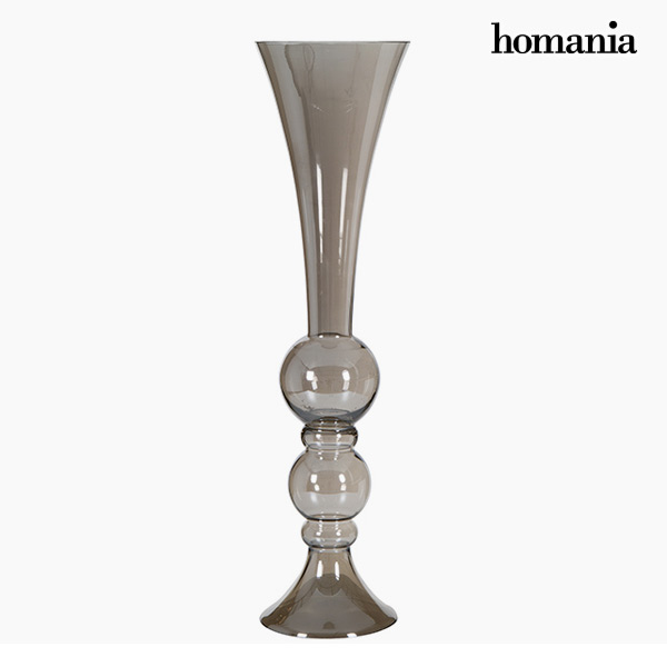 Vase (21 x 21 x 88 cm) - Pure Crystal Deco Collection by Homania
