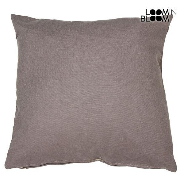Cushion Brown (60 x 60 cm) by Loom In Bloom