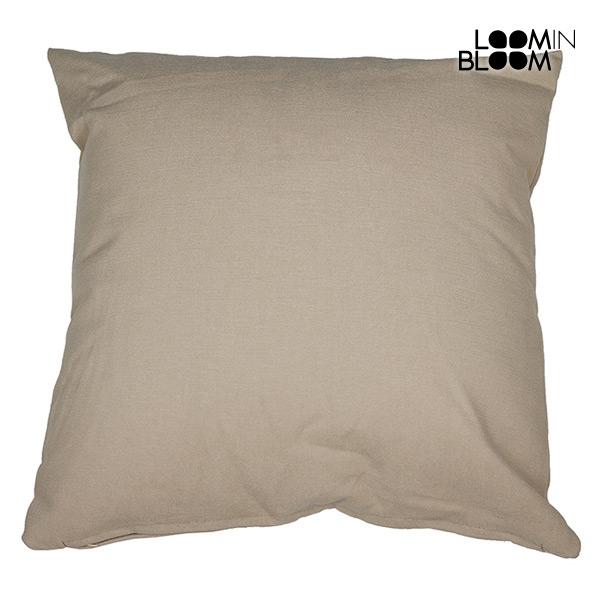 Cushion Beige (60 x 60 cm) by Loom In Bloom