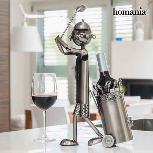 Golfer Metal Bottle Holder