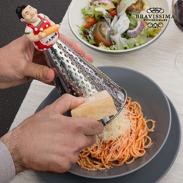 Stainless Steel Grater with Figure