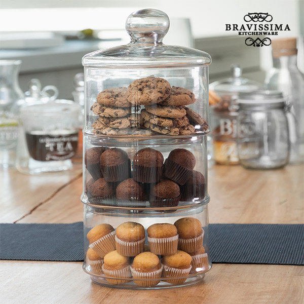 Bravissima Kitchen Triple XL Glass Jar