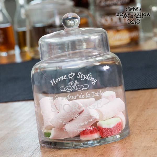Bravissima Kitchen Glass Jar