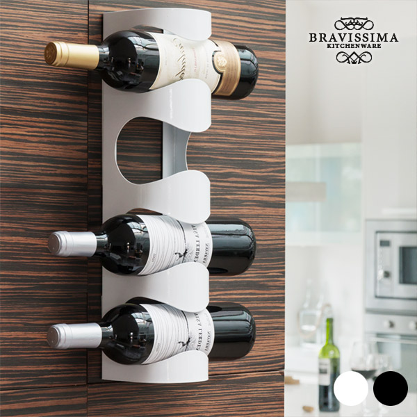 Bravissima Kitchen Metal Wine Holder