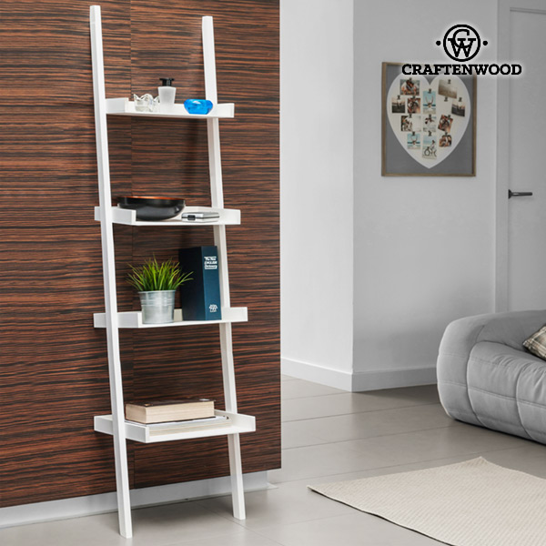 Craftenwood Tilted Wall Shelf (4-tier)