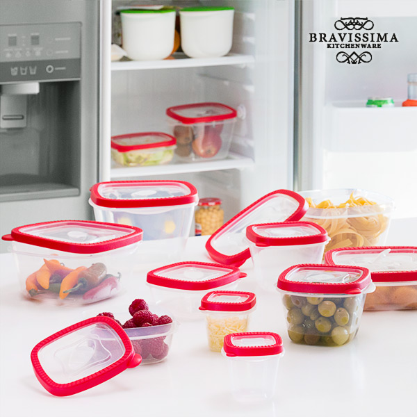 Bravissima Kitchen Lunch Boxes (24 pieces)