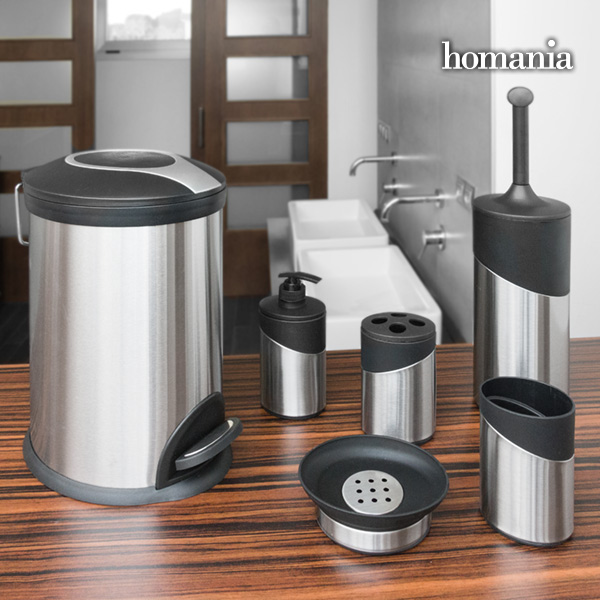 Inox Homania Bathroom Accessories (6 pieces)