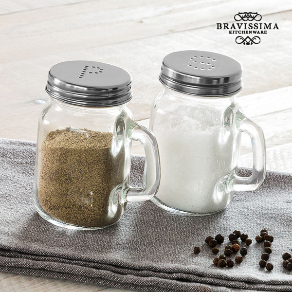 Bravissima Kitchen Classics Salt and Pepper Shakers