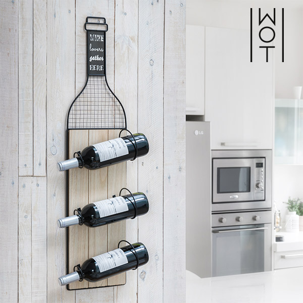 Wagon Trend Wall Mounted Bottle Rack
