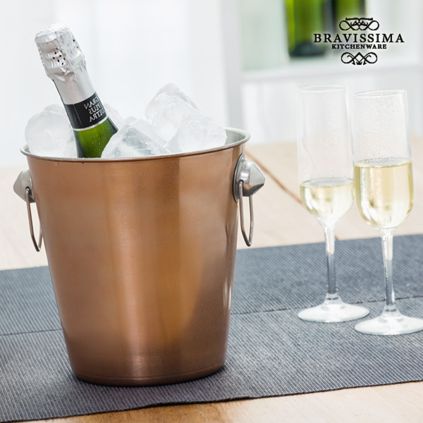 Bravissima Kitchen Copper Ice Bucket