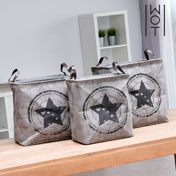 Wagon Trend Star Organiser Bags (Pack of 3)