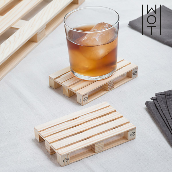 Wagon Trend set of Pallet Coasters ( Pack of 2)