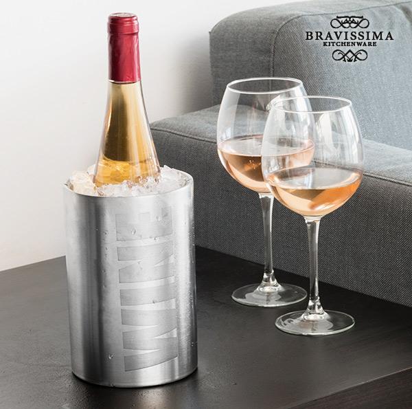 Bravissima Kitchen Inox Wine Bottle Cooler