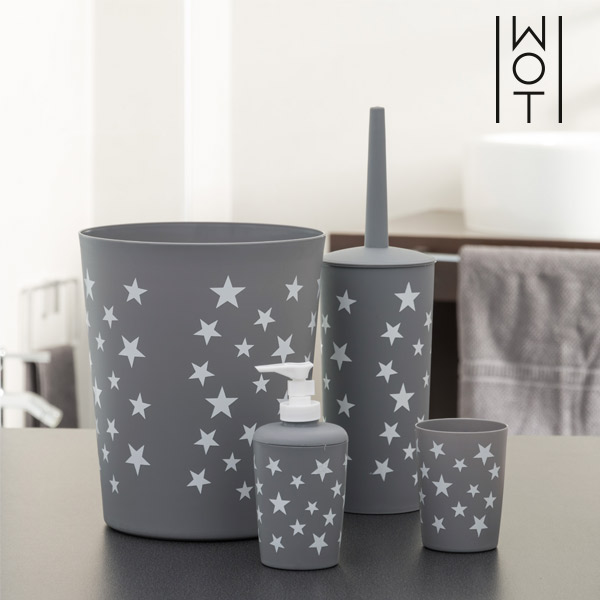 Wagon Trend Star Bathroom Accessories (4 pieces)