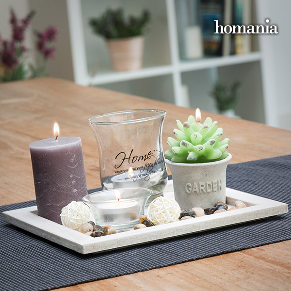 Candles & Garden Homania Centrepiece