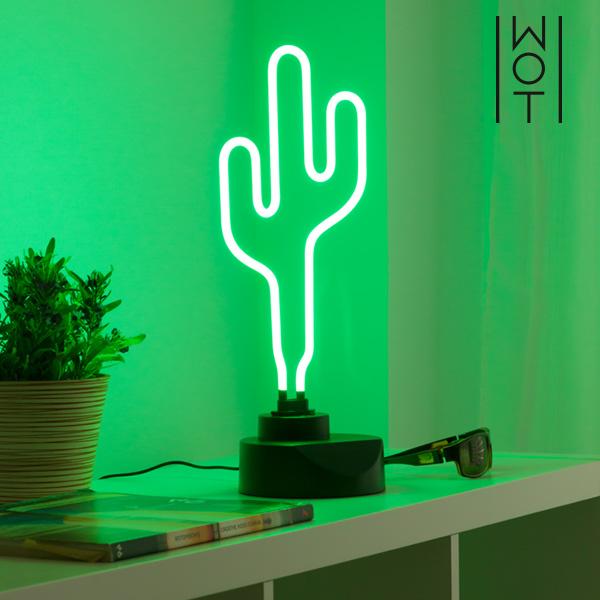 Wagon Trend Cactus Neon Lamp 6W