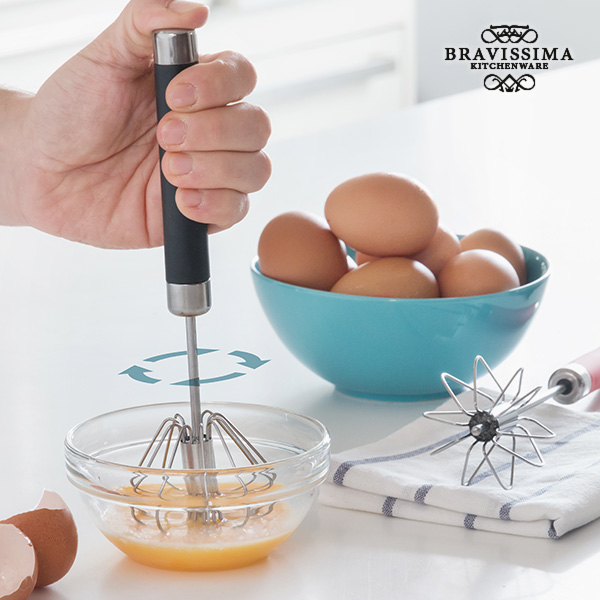 Bravissima Kitchen Manual Hand Mixer with Automatic Rotation