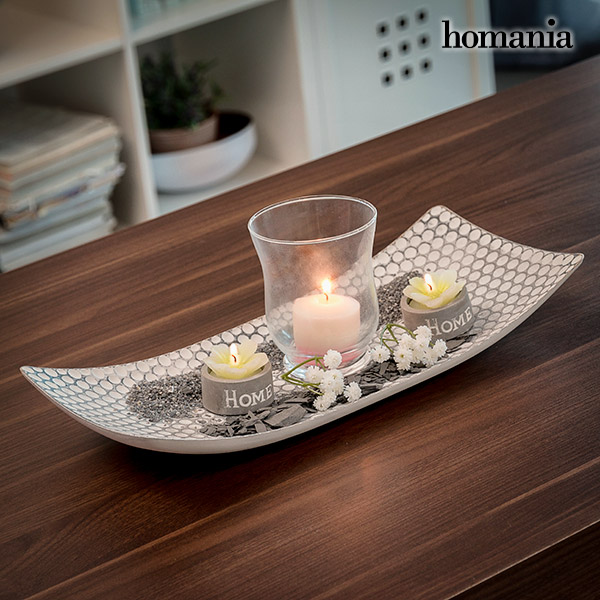 Harmony Homania Table Centrepiece with Candle-holder
